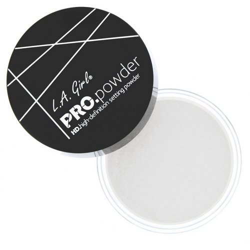 L.A. Girl, Pro HD Setting Powder, Translucent, 0.17 oz (5 g) Review