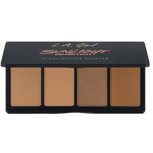 L.A. Girl, Sunlight Sensation Highlighting Palette, 0.14 oz (4 g) Each Review