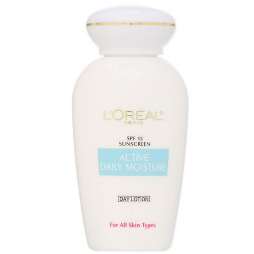 L'Oreal, Active Daily Moisture, Day Lotion, SPF 15, 4 fl oz (118 ml) Review