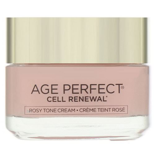 L'Oreal, Age Perfect Cell Renewal, Rosy Tone Moisturizer, 1.7 oz (48 g) Review