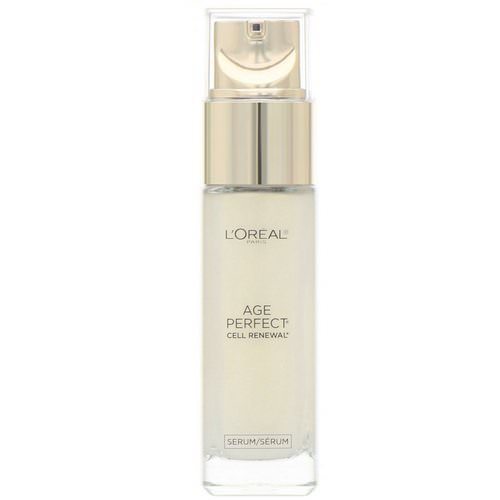 L'Oreal, Age Perfect Cell Renewal, Skin Renewing Facial Treatment, 1 fl oz (30 ml) Review