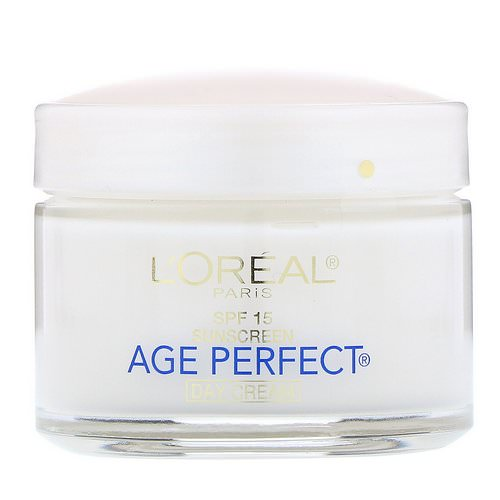 L'Oreal, Age Perfect, Day Cream, SPF 15, 2.5 oz (70 g) Review