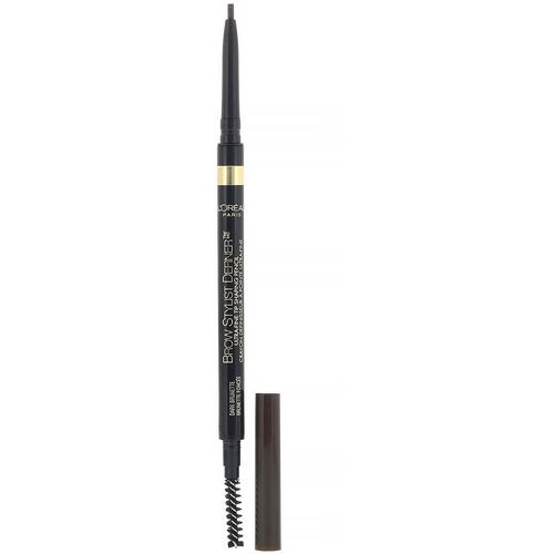 L'Oreal, Brow Stylist Definer, Ultra Fine Tip, 390 Dark Brunette, 0.003 oz (90 mg) Review
