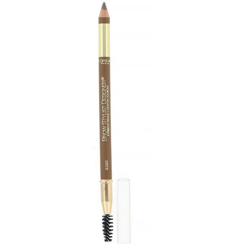 L'Oreal, Brow Stylist Designer Eyebrow Pencil, 305 Blonde, .045 oz (1.3 g) Review
