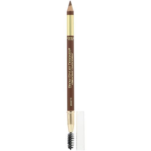 L'Oreal, Brow Stylist Designer Eyebrow Pencil, 310 Brunette, 0.045 oz (1.3 g) Review