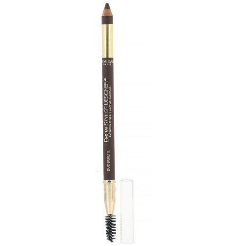 L'Oreal, Brow Stylist Designer Eyebrow Pencil, 315 Dark Brunette, .045 oz (1.3 g) Review