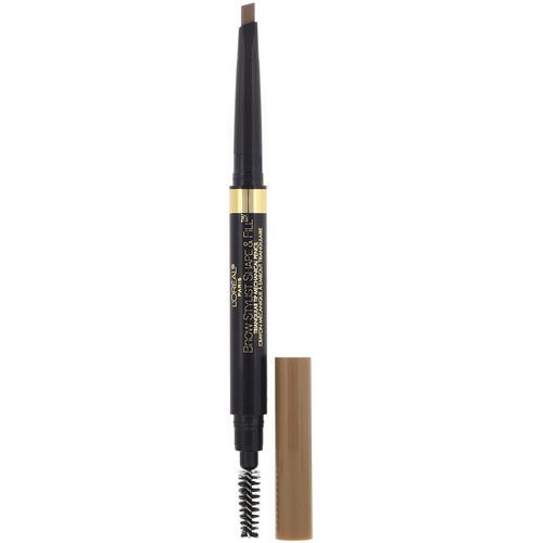 L'Oreal, Brow Stylist, Shape & Fill, 400 Blonde, .008 oz (250 mg) Review