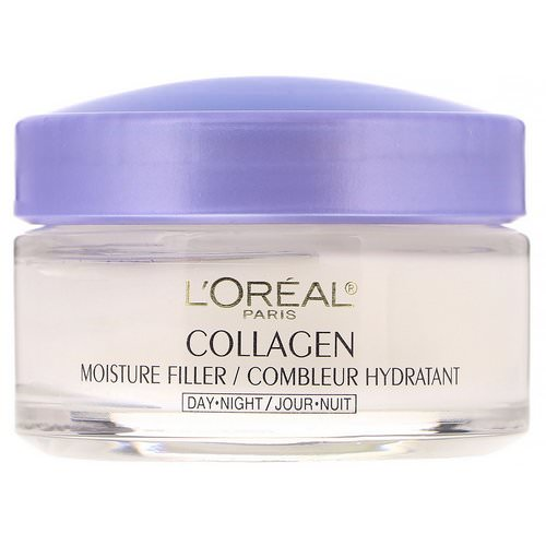 L'Oreal, Collagen Moisture Filler, Day/Night Cream, 1.7 oz (48 g) Review