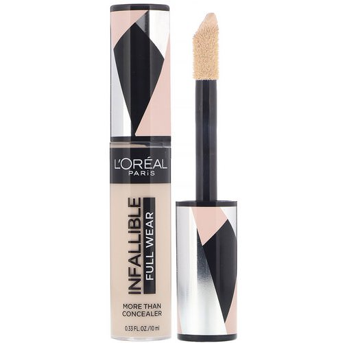 L'Oreal, Infallible Full Wear More Than Concealer, 320 Porcelain, 0.33 fl oz (10 ml) Review