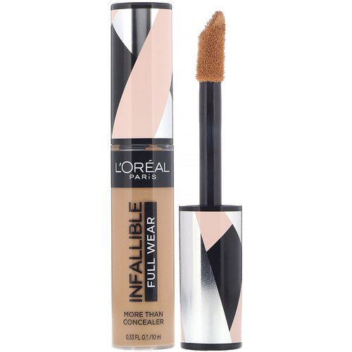 L'Oreal, Infallible Full Wear More Than Concealer, 410 Almond, .33 fl (10 ml) Review