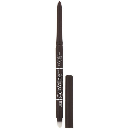 L'Oreal, Infallible Mechanical Eyeliner, 581 Black Brown, .008 oz (240 mg) Review