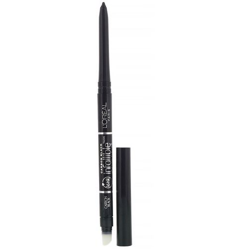 L'Oreal, Infallible Mechanical Eyeliner, 591 Carbon Black, 0.008 oz (240 mg) Review