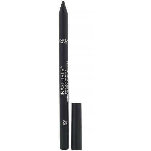 L'Oreal, Infallible Pro-Last Waterproof Pencil Eyeliner, 930 Black, 0.042 fl oz (1.2 g) Review