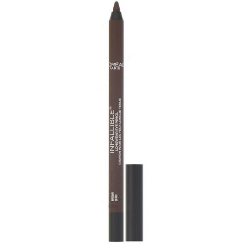 L'Oreal, Infallible Pro-Last Waterproof Pencil Eyeliner, 940 Brown, 0.042 fl oz (1.2 g) Review