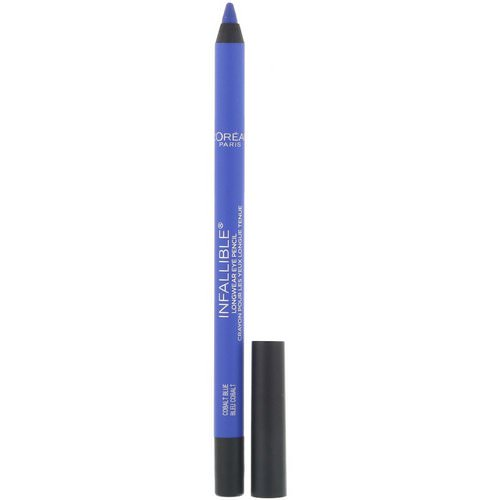 L'Oreal, Infallible Pro-Last Waterproof Pencil Eyeliner, 960 Cobalt Blue, 0.042 fl oz (1.2 g) Review