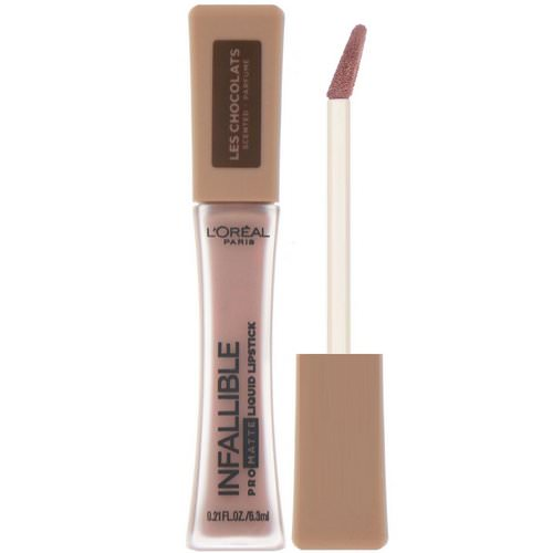 L'Oreal, Infallible Pro-Matte Liquid Lipstick, Les Chocolats, 848 Dose of Cocoa, 0.21 fl oz (6.3 ml) Review