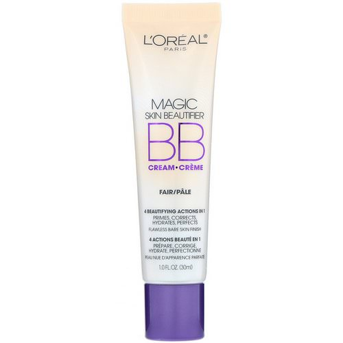 L'Oreal, Magic Skin Beautifier, BB Cream, 810 Fair, 1 fl oz (30 ml) Review
