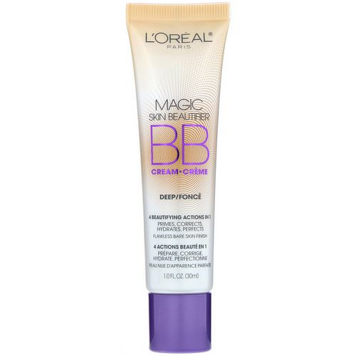 L'Oreal, Magic Skin Beautifier, BB Cream, 816 Deep, 1 fl oz (30 ml) Review