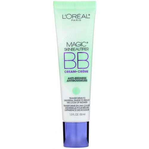 L'Oreal, Magic Skin Beautifier, BB Cream, 820 Anti-Redness, 1 fl oz (30 ml) Review