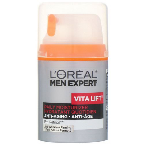 L'Oreal, Men Expert, Vita Lift, Daily Moisturizer, Anti-Wrinkle & Firming, 1.6 fl oz (48 ml) Review