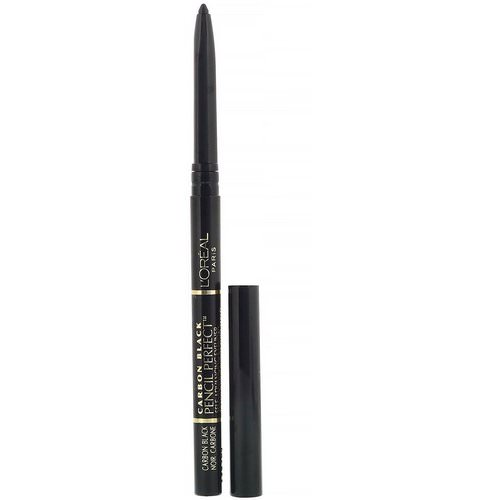 L'Oreal, Pencil Perfect Self-Advancing Eyeliner, 190 Carbon Black, 0.01 oz (280 mg) Review