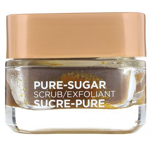 L'Oreal, Pure-Sugar Scrub, Smooth & Glow, 3 Pure Sugars + Grapeseed, 1.7 oz (48 g) Review