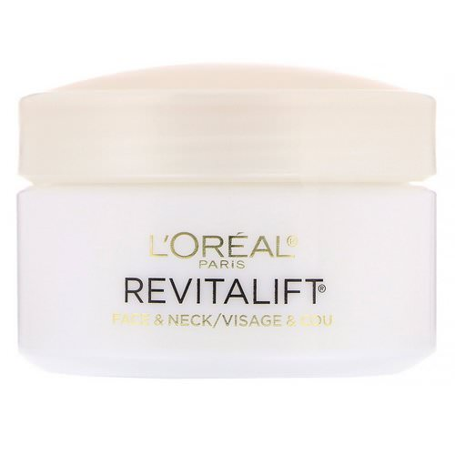 L'Oreal, Revitalift Anti-Wrinkle + Firming, Face & Neck Moisturizer, 1.7 oz (48 g) Review