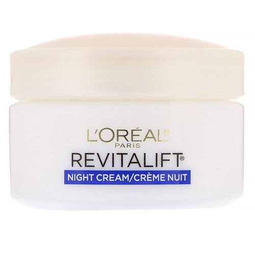 L'Oreal, Revitalift Anti-Wrinkle + Firming, Night Moisturizer, 1.7 oz (48 g) Review