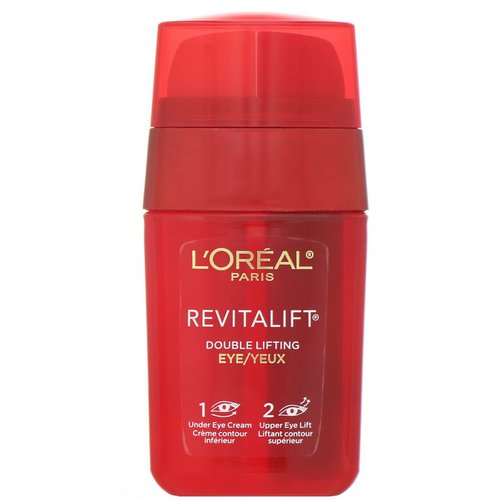 L'Oreal, Revitalift Double Lifting, Eye Treatment, 0.5 fl oz (15 ml) Review