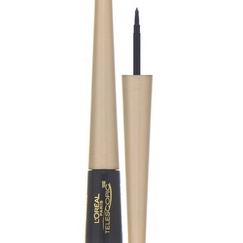 L'Oreal, Telescopic Control Tip Liquid Eyeliner, 820 Charcoal, .08 fl oz (2.45 ml) Review