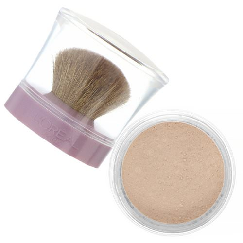 L'Oreal, True Match Mineral Foundation, C1-2/461 Natural Ivory, .35 oz (10 g) Review