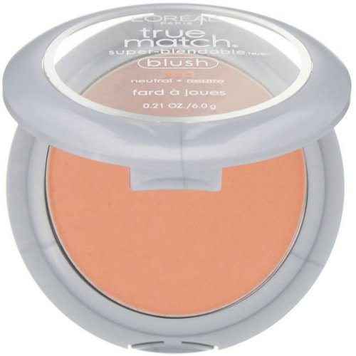 L'Oreal, True Match Super-Blendable Blush, N3-4 Innocent Flush, .21 oz (6 g) Review