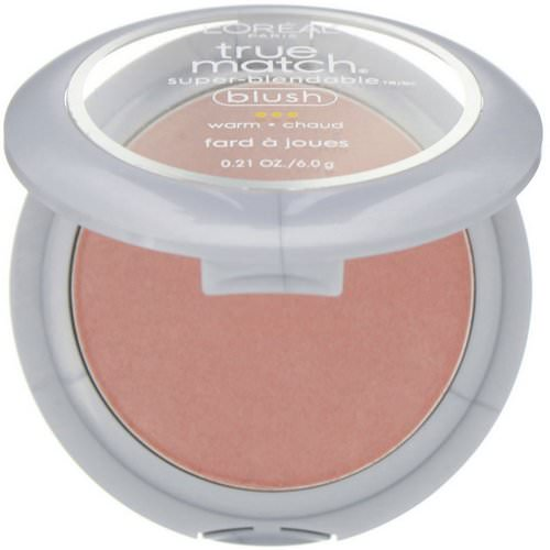 L'Oreal, True Match Super-Blendable Blush, W5-6 Subtle Sable, 0.21 oz (6 g) Review