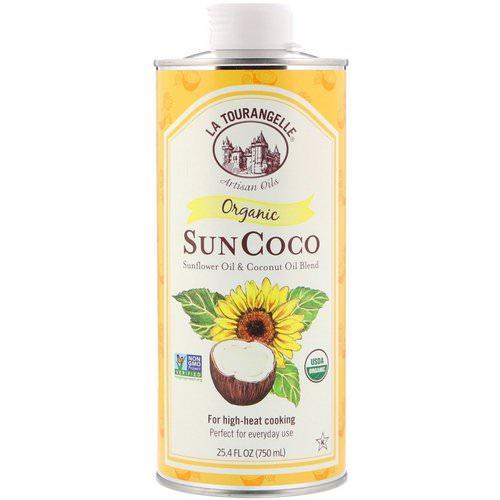 La Tourangelle, Organic SunCoco, Sunflower Oil & Coconut Oil Blend, 25.4 fl oz (750 ml) Review