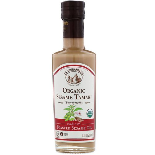 La Tourangelle, Organic Vinaigrette, Sesame Tamari, 8.45 fl oz (250 ml) Review