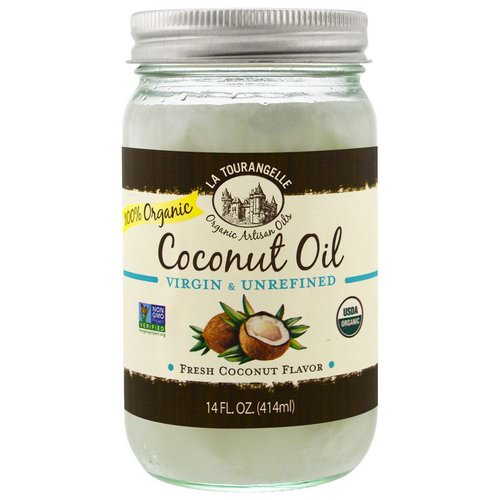La Tourangelle, Virgin & Unrefined, Organic Coconut Oil, 14 fl oz (414 ml) Review