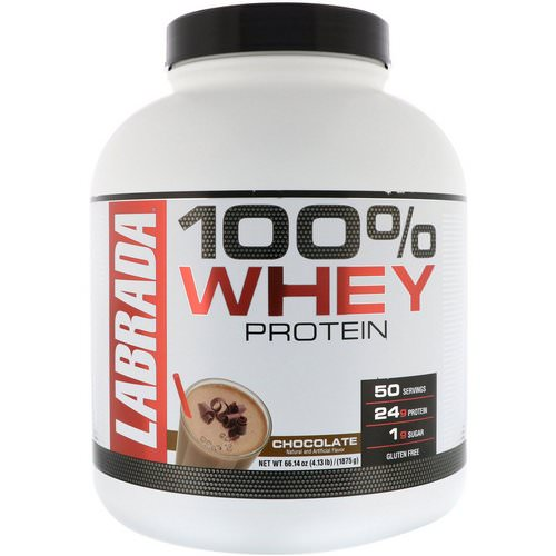 Labrada Nutrition, 100% Whey Protein, Chocolate, 4.13 lbs (1875 g) Review