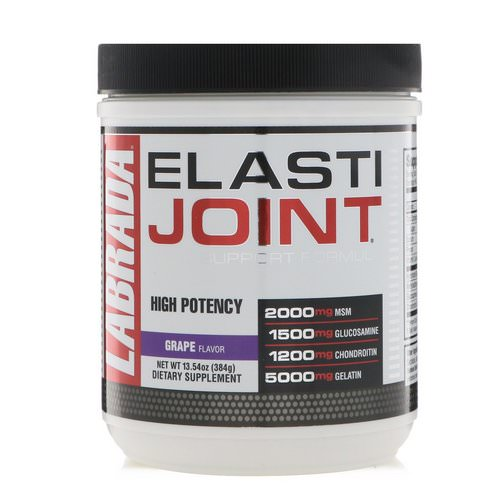 Labrada Nutrition, ElastiJoint, Joint Support Formula, Grape Flavor, 13.54 oz (384 g) Review