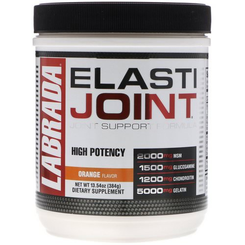 Labrada Nutrition, ElastiJoint, Joint Support Formula, Orange Flavor, 13.54 oz (384 g) Review