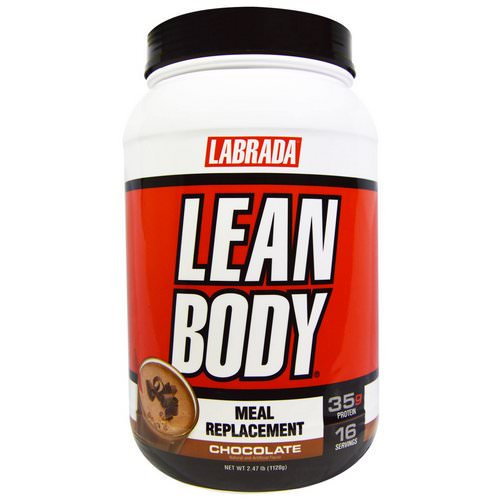 Labrada Nutrition, Lean Body, Meal Replacement, Chocolate, 2.47 lbs (1120 g) Review