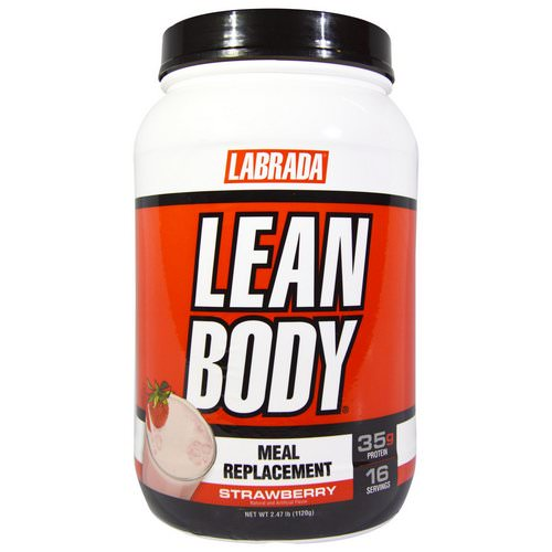 Labrada Nutrition, Lean Body, Meal Replacement, Strawberry, 2.47 lb (1120 g) Review