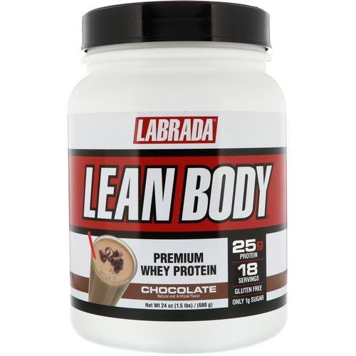 Labrada Nutrition, Lean Body, Premium Whey Protein, Chocolate, 1.5 lb (680 g) Review