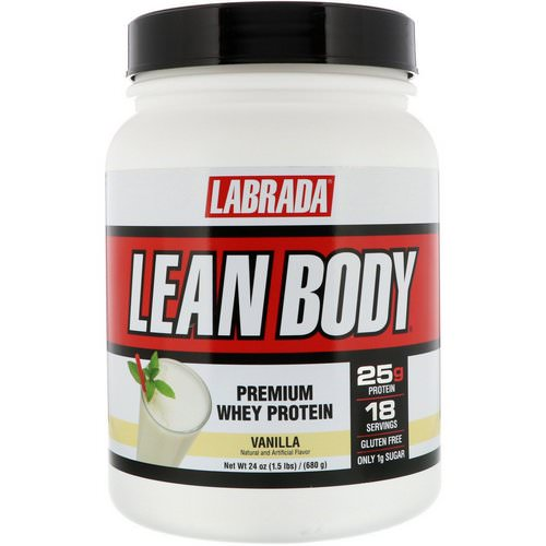 Labrada Nutrition, Lean Body, Premium Whey Protein, Vanilla, 1.5 lbs (680 g) Review