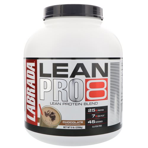Labrada Nutrition, Lean Pro8, Chocolate, 5 lbs (2268 g) Review