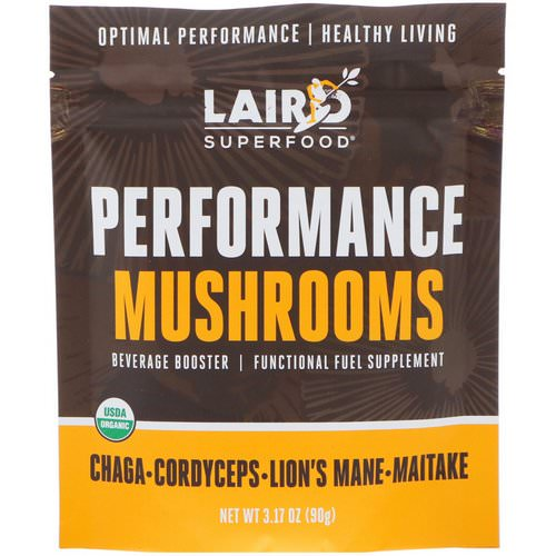 Laird Superfood, Performance Mushrooms, 3.17 oz (90 g) Review