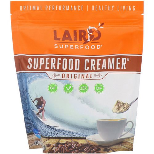 Laird Superfood, Superfood Creamer, Original, 8 oz (227 g) Review