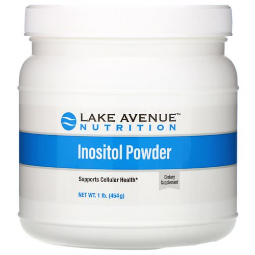 Lake Avenue Nutrition, Inositol Powder, Unflavored, 16 oz (454 g) Review