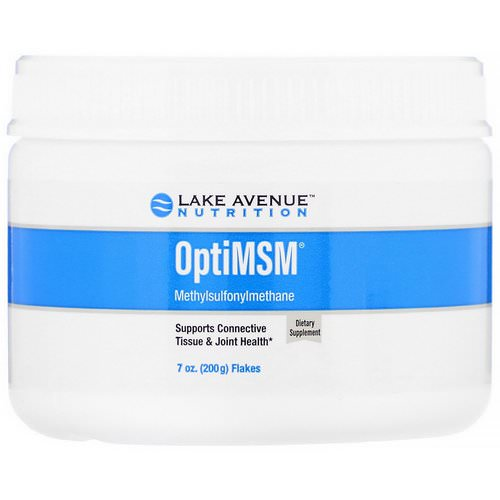 Lake Avenue Nutrition, OptiMSM Flakes, 7 oz (200 g) Review