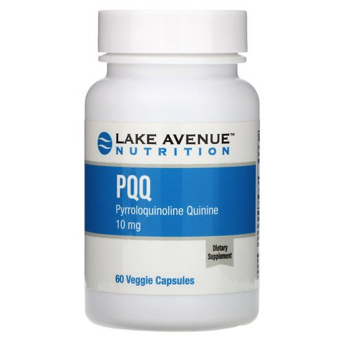 Lake Avenue Nutrition, PQQ (Pyrroloquinoline Quinine), 10 mg, 60 Veggie Capsules Review