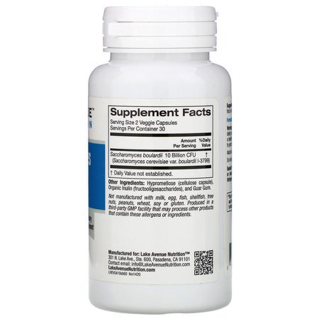 Saccharomyces Boulardii, Probiotics, Digestion, Supplements